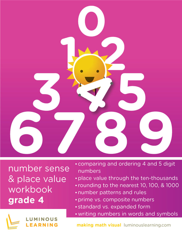 Grade 4 Number Sense and Place Value Workbook