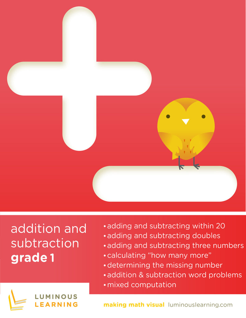 1st grade math addition and subtraction worksheets for special education