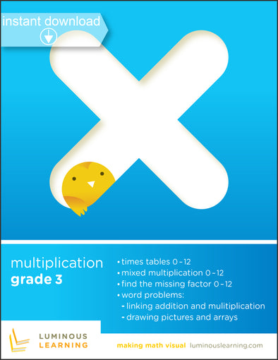 Grade 3 Multiplication Printable Workbook