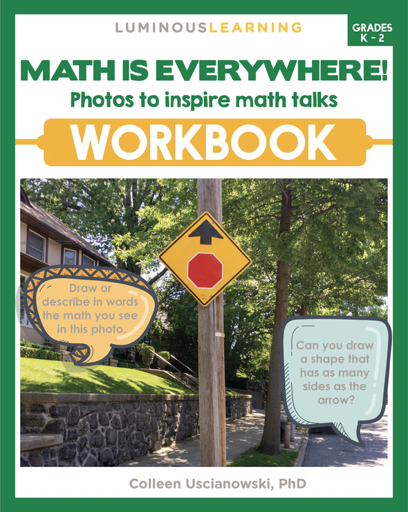 """Math is Everywhere"" Workbook for Grades K - 2"