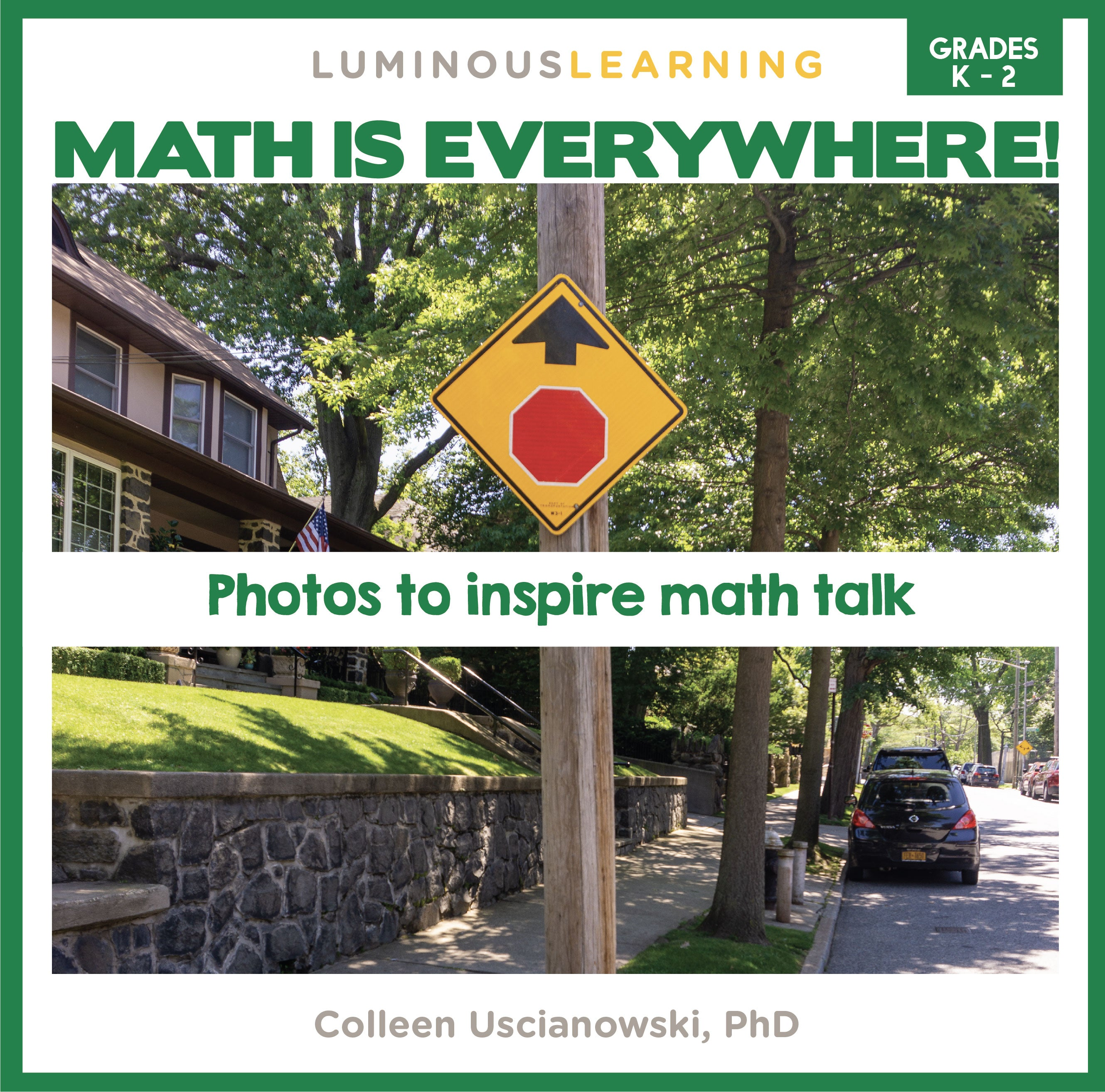 """Math is Everywhere"" Picture Book for Grades K - 2"