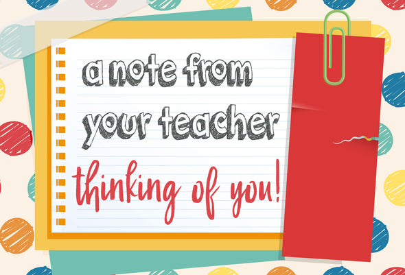 "Postcards for kids from the teacher | Encouragement cards with envelopes | 4"" x 6"" blank postcard for students"