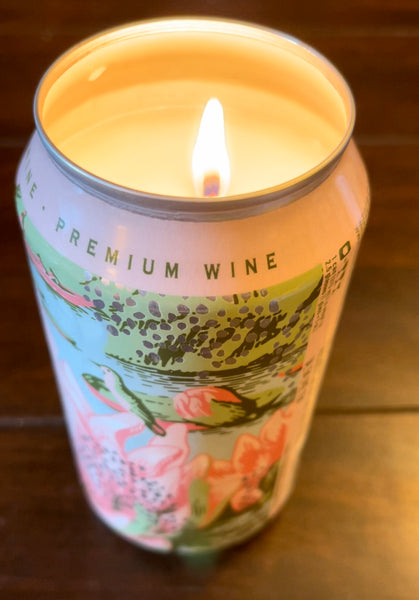 Wine Can Candle Tutorial