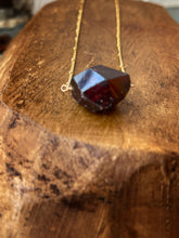 Load image into Gallery viewer, Garnet Is January's Birthstone And This Necklace Is Gonna Fix You Right Up Necklace