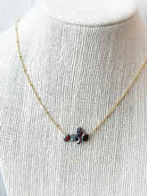 Load image into Gallery viewer, Have You Tried Minding Your Own Business Garnet Necklace