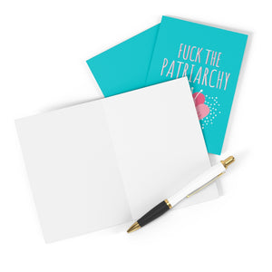 Fuck The Patriarchy Greeting Card