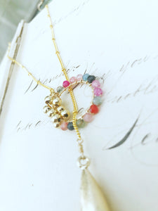 No I Get It One Standard For You One Standard For Me Lariat Necklace