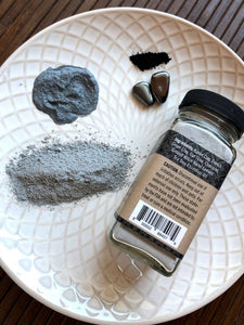 Clarifying Charcoal & Hematite Cleansing Grains - Face Mask
