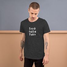 Load image into Gallery viewer, Fresh Outta Fucks Short-Sleeve Unisex T-Shirt