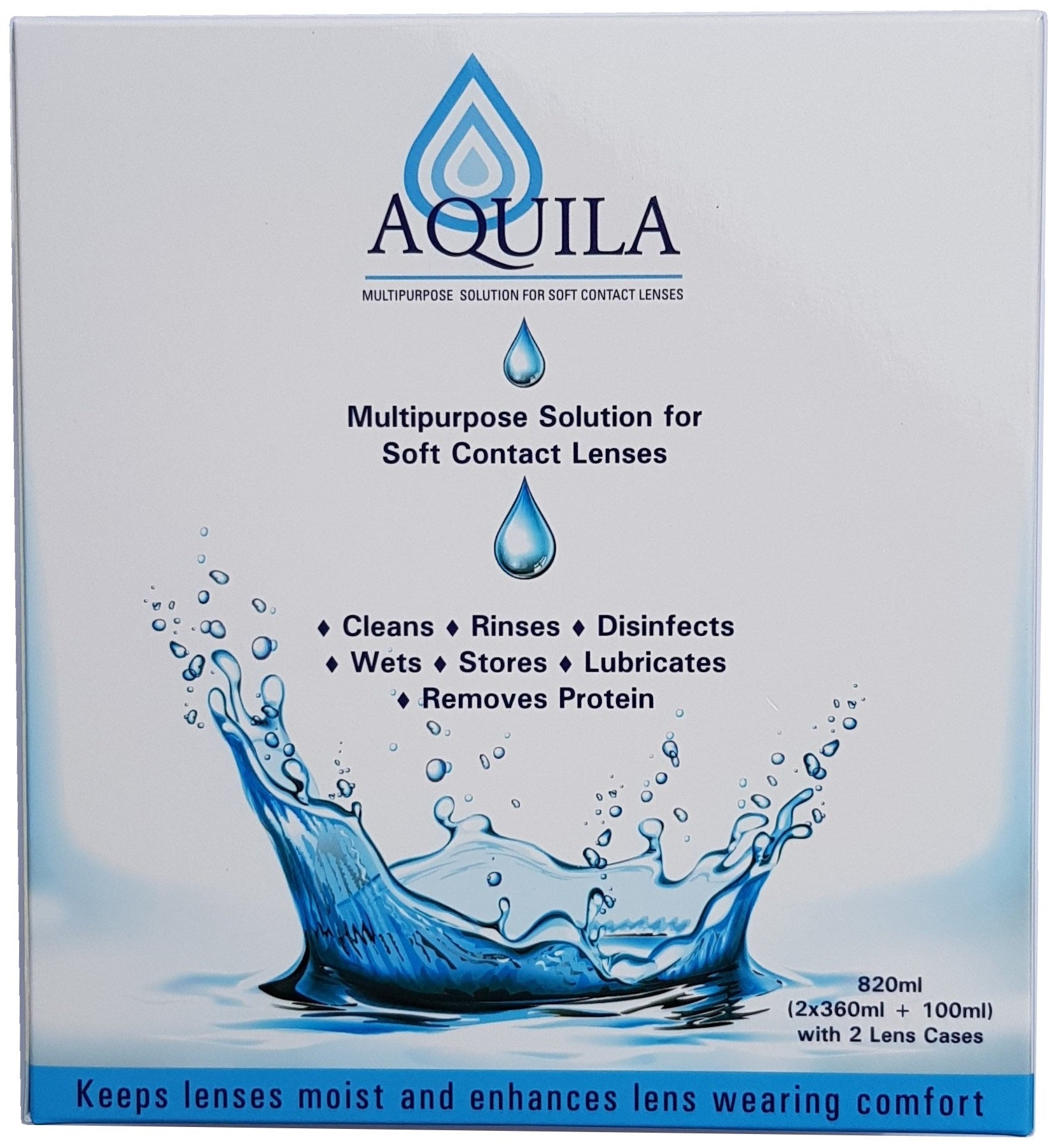 Aquila Solution 820ml Savings Pack