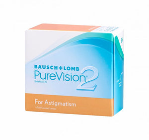 PureVision 2 for Astigmatism 6pk