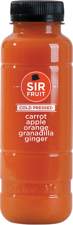 Cold Pressed Carrot 300ml - Mr. Fresh Produce