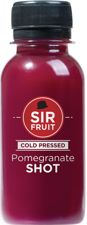 Raw Health Shots - Pomegranate Power Shot 12 pack Single Flavor - Mr. Fresh Produce