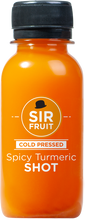 Load image into Gallery viewer, Raw Health Shots - Spicy Tumeric Shot 12 pack Single Flavor - Mr. Fresh Produce