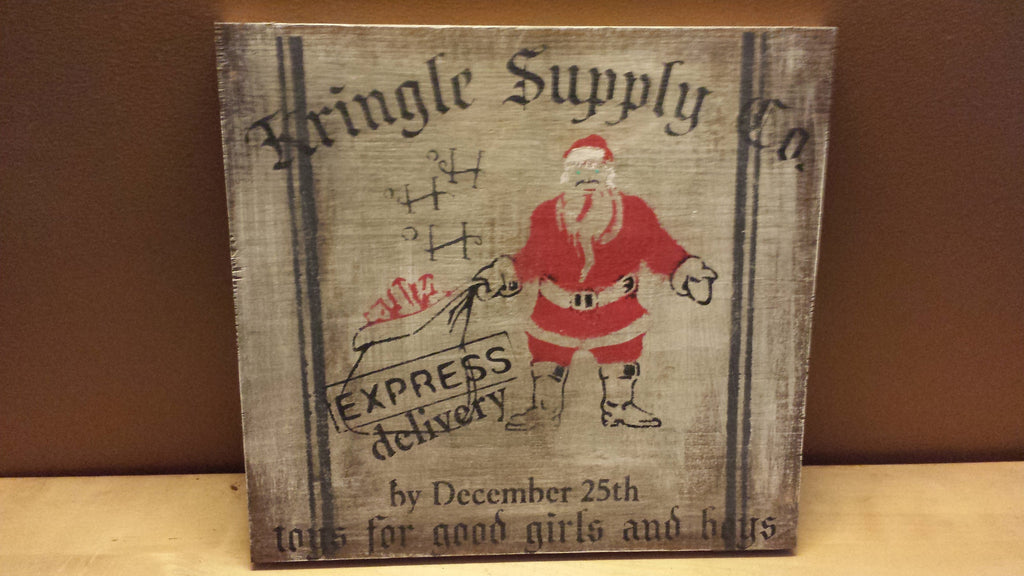 CHRISTMAS KRINGLE SIGN