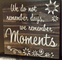 SPECIAL MOMENT SIGN