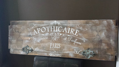 APOTHICAIRE SIGN(SOLD)