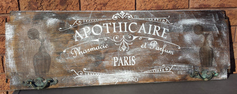 APOTHICAIRE SIGN (SOLD)