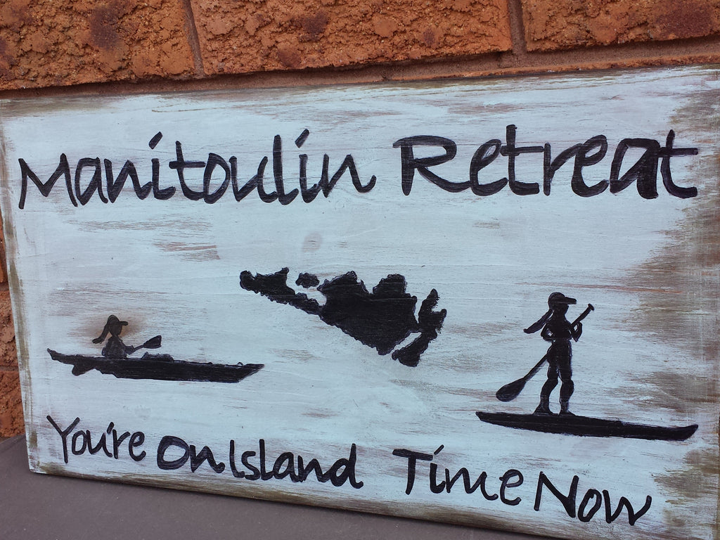 MANITOULIN SIGN