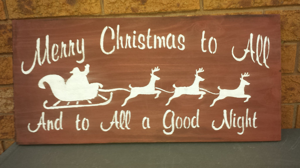 MERRY CHRISTMAS SIGN