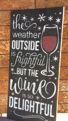 WINTER WINE SIGN