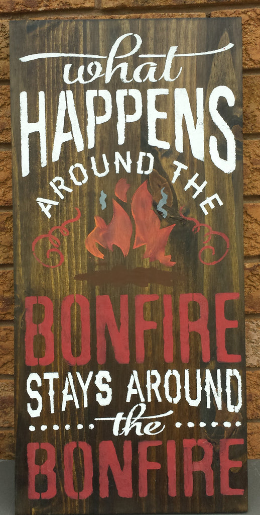 BONFIRE SIGN