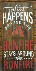 CAMPFIRE/BONFIRE SIGN