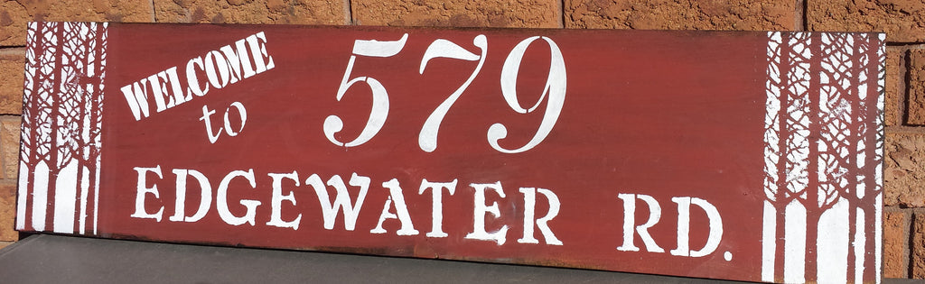 ADDRESS SIGN