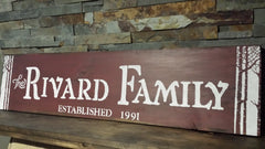 CUSTOM COTTAGE SIGN