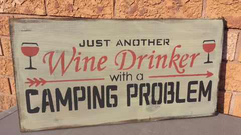 CAMP/WINE/BEER HUMOR