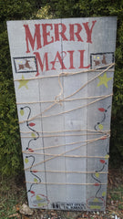 CHRISTMAS SIGN (sold)
