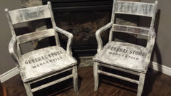 CHAIRS RE PURPOSED