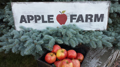 APPLE FARM SIGN
