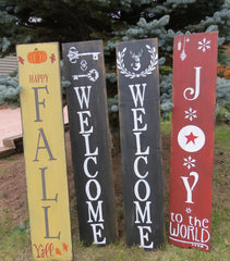 ENTRANCE WELCOME SIGNS