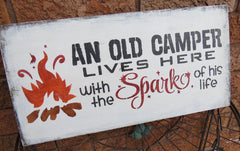 Camp Humor Sign