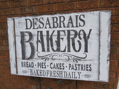 BAKERY NAME SIGN