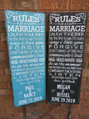 MARRIAGE RULES/PERS.