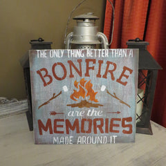 BONFIRE SIGN/Ships free