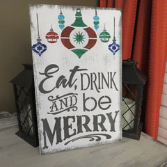 CHRISTMAS/DINING SIGN