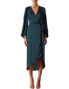 Shona Joy - Martina Wrap Dress (Size 8)