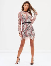 Load image into Gallery viewer, Talulah - The Passions Long Sleeve Mini Dress (Size 10)