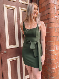 Shona Joy - Khaki Lucy Tank Dress (Size 10)