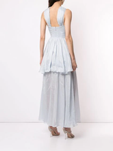 Load image into Gallery viewer, Aje - Fraser Maxi Dress Blue (Size 8)