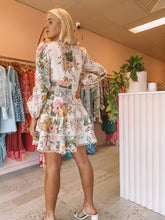 Load image into Gallery viewer, Zimmermann - Heather's Flounce Mini Dress (Size 2)