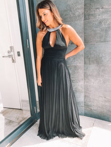 Rachel Gilbert - Black Ball Gown (Size 1)