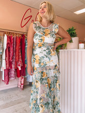 Load image into Gallery viewer, Alice McCall - Oh So Lovely Sunset Yellow Floral Midi (Size 8/10)