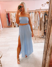 Load image into Gallery viewer, Sisters The Label - Blue Maxi Set (6-12)