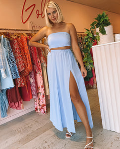 Sisters The Label - Blue Maxi Set (6-12)