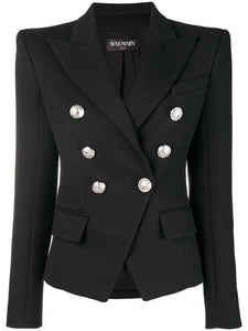 Balmain - Double Breasted Blazer
