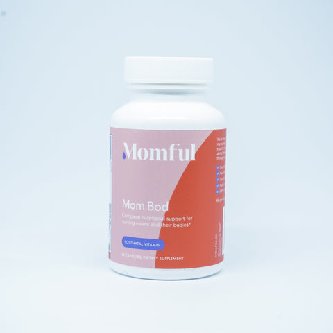 Momful Mom Bod Postnatal Multivitamin for Postpartum and Breastfeeding Moms